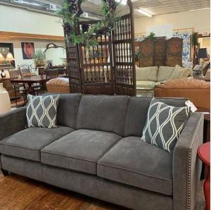 3 Cushion Gray sofa