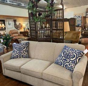 3 cushion England sofa with Duraperformance