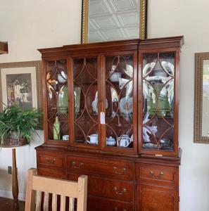 Antique Mahogany Breakfront - Secretary