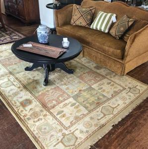 Beautiful hand knotted wool rug