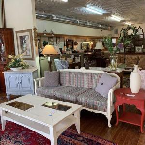 Distressed Antique Sofa