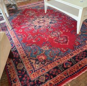 antique wool rug