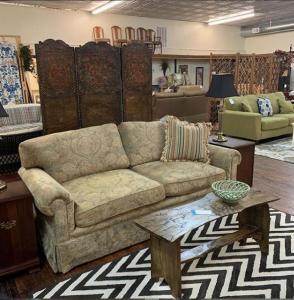 chenille sofa
